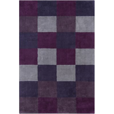 INT Blue Geometric Area Rug Rug Size: 4 x 6