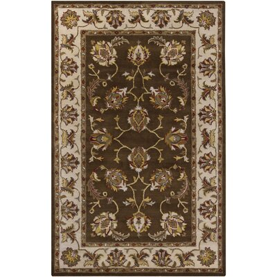 Beardmore Brown Area Rug Rug Size: 5 x 8