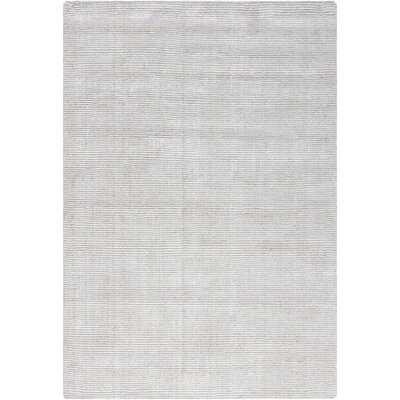 Yiwei White Area Rug Rug Size: 5 x 7