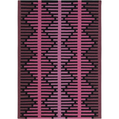Haysville Pink Abstract Rug Rug Size: 3 x 5