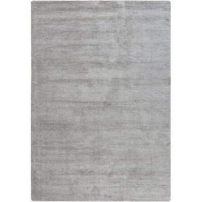 Yiwei Wool Light Gray Area Rug Rug Size: 5 x 7
