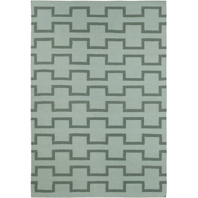Velasquez Green Abstract Rug Rug Size: 5 x 7