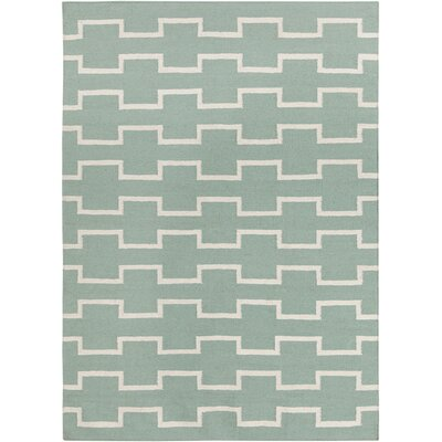Lima Mint Abstract Area Rug Rug Size: 3 x 5