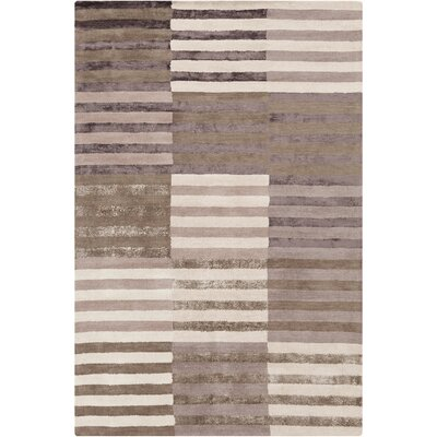 Yiwei Stripes Area Rug Rug Size: 5 x 76
