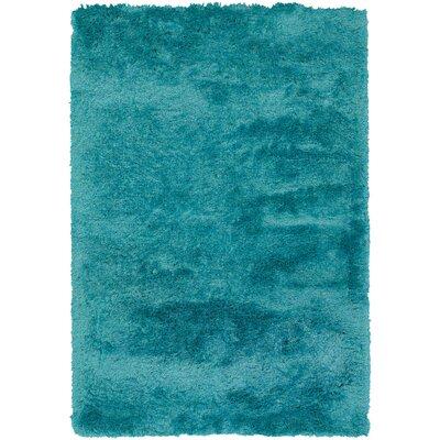 Shaylene Blue Rug Rug Size: 5 x 76