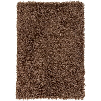Pampa Brown Area Rug Rug Size: 79 x 106