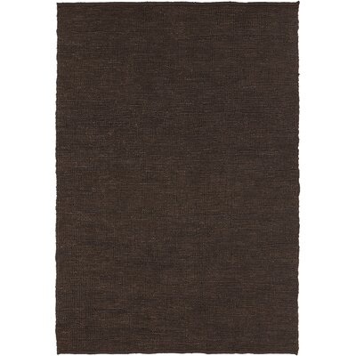 Pricol Brown Area Rug Rug Size: 5 x 7