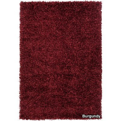 Sidney Red Area Rug Rug Size: 7'9