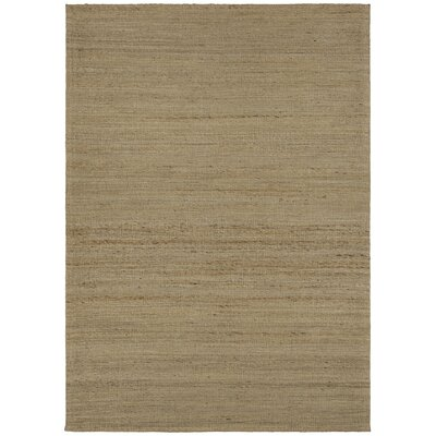 Evie Natural Area Rug Rug Size: 79 x 106