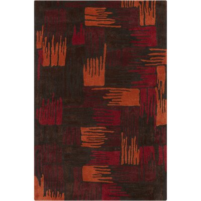 Arae Abstract Area Rug Rug Size: 5 x 76