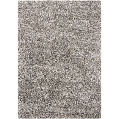 Caprice Light Grey Area Rug Rug Size: 5'3