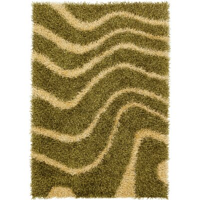 Stockwell Green/Yellow Area Rug Rug Size: 5 x 76