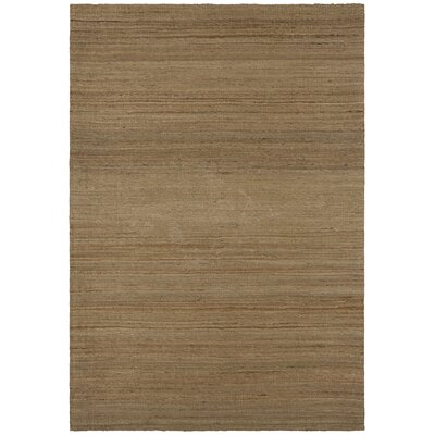 Evie Brown Area Rug Rug Size: 79 x 106