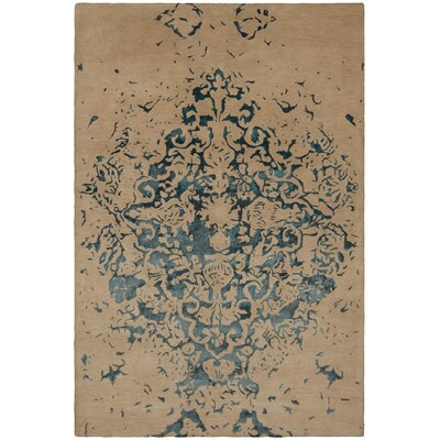 Veleno Brown Area Rug Rug Size: 79 x 106