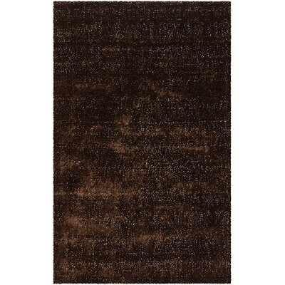 Whitehall Brown Area Rug Rug Size: 5 x 8
