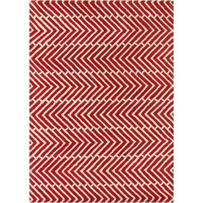 Perna Hand Woven Chevron Rug Rug Size: Rectangle 5 x 7
