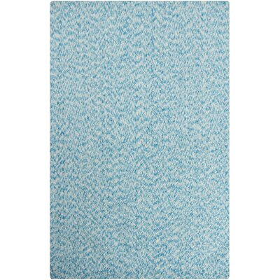 Zion Blue Area Rug Rug Size: 79 x 106