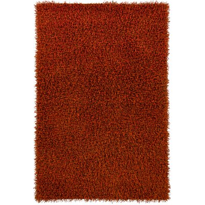 Yiwei Orange Area Rug Rug Size: 79 x 106