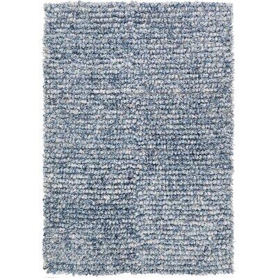 Augustine Blue Area Rug Rug Size: 5 x 76