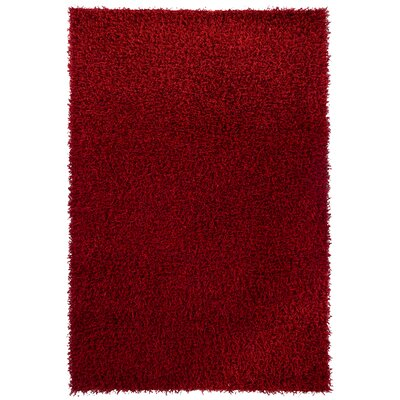 INT Red Area Rug Rug Size: 79 x 106