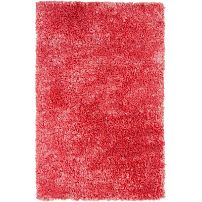 Banner Pink Area Rug Rug Size: 36 x 56