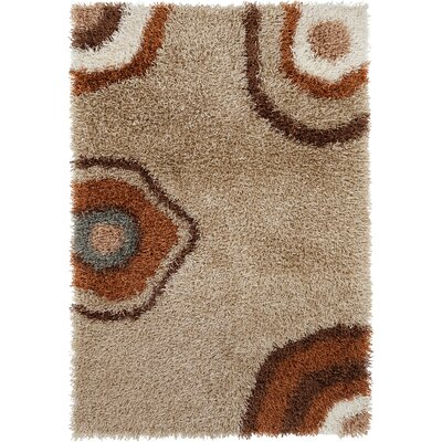 Stockwell Shag Brown Area Rug Rug Size: Rectangle 5 x 76