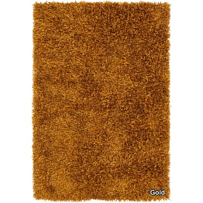 Sidney Brown Area Rug Rug Size: 79 x 106