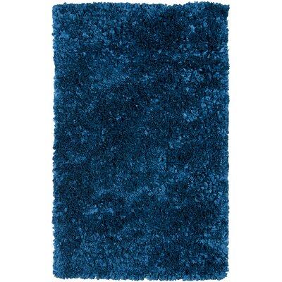 Banner Blue Area Rug Rug Size: 36 x 56