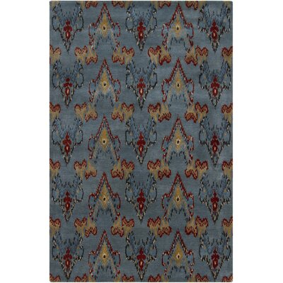 Tom Grey Abstract Area Rug Rug Size: 79 x 106