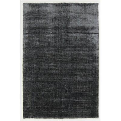 Leeson Black Area Rug Rug Size: 9 x 13