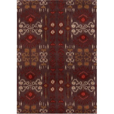 Cache Brown Abstract Rug Rug Size: 5 x 7
