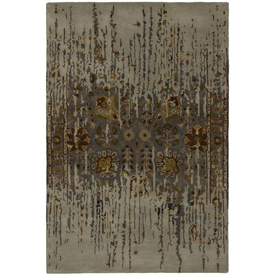 Spring Brown Area Rug Rug Size: 79 x 106