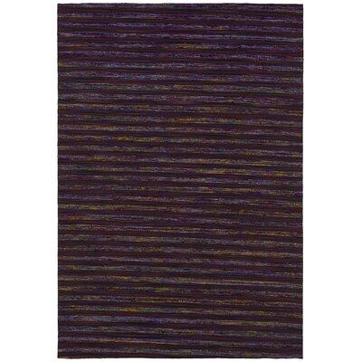 Vanderbilt Black Area Rug Rug Size: 79 x 106