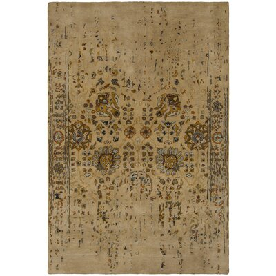 Kate Tan Area Rug Rug Size: 5 x 76