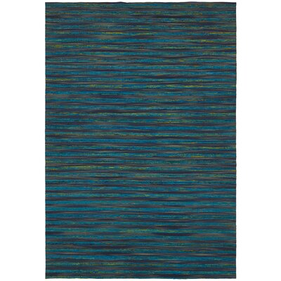 Vanderbilt Hand Woven Silk Blue Area Rug Rug Size: Rectangle 5 x 76