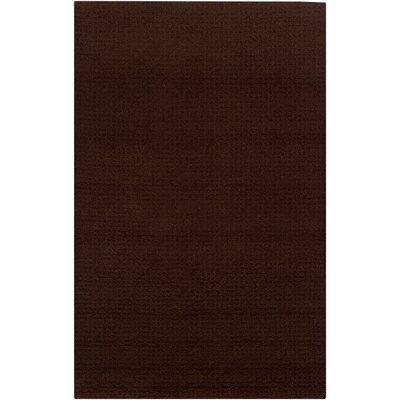 Luxor Brown Area Rug Rug Size: 5 x 8