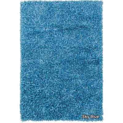 Vinoe Blue Area Rug Rug Size: 5 x 76