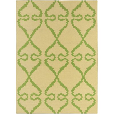 Corwin Hand Woven Abstract Rug Rug Size: 5 x 7
