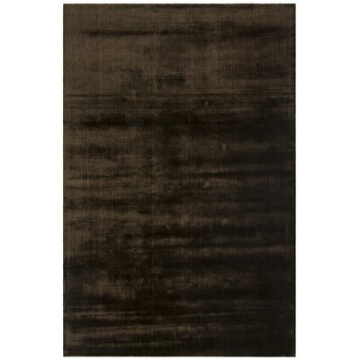 Steffen Contemporary Black Area Rug Rug Size: 5 x 76