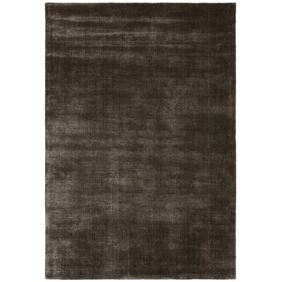 Steffen Black Area Rug Rug Size: Rectangle 79 x 106