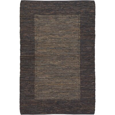 Terrill Brown Area Rug Rug Size: 9 x 13
