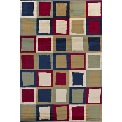 Wallner Geometric Area Rug Rug Size: 5'3