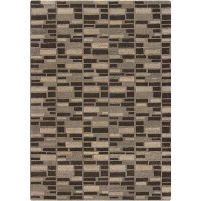 Innate Gray Area Rug Rug Size: 5 x 7