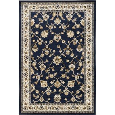 Taj Blue Area Rug Rug Size: 5'3 x 7'9