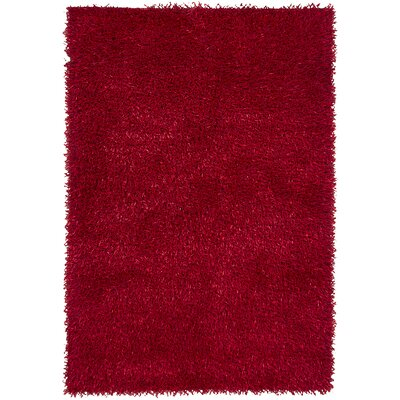 Estella Red Area Rug Rug Size: 5 x 76