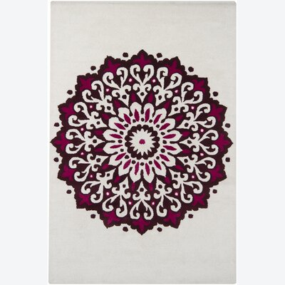 Gupta Abstract Area Rug Rug Size: 79 x 106