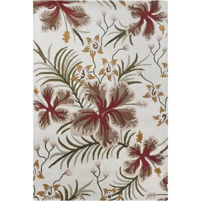 INT Floral Area Rug Rug Size: 7 x 10