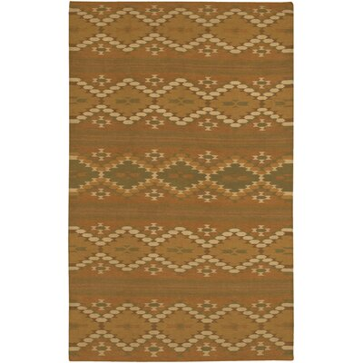 Barbazan Brown Rug Rug Size: Round 59