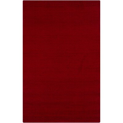 Tracey Red Area Rug Rug Size: 5 x 8
