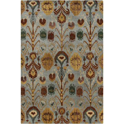 Forbis Tan Abstract Area Rug Rug Size: 5 x 76